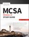 MCSA Microsoft Windows 10 Study Guide: Exam 70-697 (111925230X) cover image