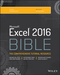 Excel 2016 Bible (1119067510) cover image