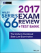 Wiley FINRA Series 66 Exam Review 2017: The Uniform Combined State Law Examination (1119379911) cover image