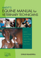 AAEVT's Equine Manual for Veterinary Technicians (0813829712) cover image
