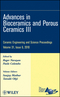 Advances in Bioceramics and Porous Ceramics III: Ceramic Engineering and Science Proceedings, Volume 31, Issue 6 (0470594713) cover image