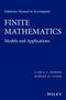 Solutions Manual to Accompany Finite Mathematics: Models and Applications (1119015413) cover image
