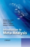 Introduction to Meta-Analysis (EHEP002313) cover image