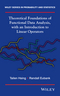 Theoretical Foundations of Functional Data Analysis, with an Introduction to Linear Operators (0470016914) cover image