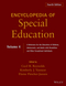 Encyclopedia of Special Education, A Reference for the Education of Children, Adolescents, and Adults Disabilities and Other Exceptional Individuals, Volume 4, Encyclopedia of Special Education, 4th Edition (0470949414) cover image
