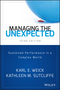 Managing the Unexpected: Sustained Performance in a Complex World, 3rd Edition (1118862414) cover image
