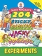 Janice VanCleave's 204 Sticky, Gloppy, Wacky, and Wonderful Experiments (0471331015) cover image