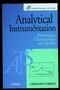 Analytical Instrumentation: Performance Characteristics and Quality (0471999016) cover image