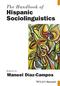 The Handbook of Hispanic Sociolinguistics (1119108918) cover image