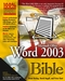 Word 2003 Bible (076453971X) cover image