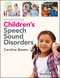 Children's Speech Sound Disorders, 2nd Edition (1118634020) cover image