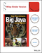 Big Java: Early Objects, 6e (EHEP003420) cover image