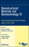 Nanostructured Materials and Nanotechnology IV: Ceramic Engineering and Science Proceedings, Volume 31, Issue 7 (0470594721) cover image