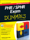 PHR / SPHR Exam For Dummies (1118603621) cover image