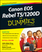 Canon EOS Rebel T5/1200D For Dummies (1118933621) cover image