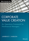 Corporate Value Creation: An Operations Framework for Nonfinancial Managers (1118997522) cover image