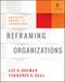 Reframing Organizations: Artistry, Choice, and Leadership, 6th Edition (1119281822) cover image