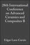 28th International Conference on Advanced Ceramics and Composites B, Volume 25, Issue 4 (0470051523) cover image