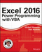 Excel 2016 Power Programming with VBA (1119067723) cover image