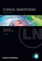 Lecture Notes: Clinical Anaesthesia, 4th Edition (0470658924) cover image