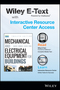 Mechanical and Electrical Equipment for Buildings, 12th Edition Wiley E-Text Card and Interactive Resource Center Access Card (1118999924) cover image