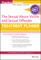 The Sexual Abuse Victim and Sexual Offender Treatment Planner, with DSM 5 Updates (1119073324) cover image