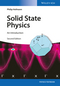 Solid State Physics: An Introduction, 2nd Edition (3527412824) cover image