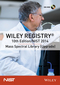 Wiley Registry 10th Edition / NIST 2014 Mass Spectral Library (Upgrade) (1119004128) cover image