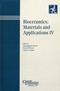 Bioceramics: Materials and Applications IV (1574982028) cover image