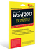 Word 2013 For Dummies eLearning Course Access Code Card (12 Month Subscription) (1118873130) cover image