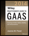 Wiley Practitioner's Guide to GAAS 2014: Covering all SASs, SSAEs, SSARSs, and Interpretations (1118734033) cover image