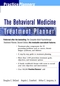 The Behavioral Medicine Treatment Planner (0471319236) cover image