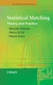 Statistical Matching: Theory and Practice (0470023538) cover image