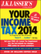 J.K. Lasser's Your Income Tax 2014: For Preparing Your 2013 Tax Return (1118734238) cover image