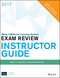 Wiley CMAexcel Learning System Exam Review 2017, Instructor Guide: Part 2 , Financial Decision Making (1119305438) cover image