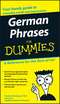 German Phrases For Dummies (0764595539) cover image