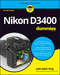 Nikon D3400 For Dummies (1119336244) cover image