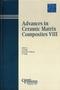 Advances in Ceramic Matrix Composites VIII (1574981544) cover image
