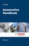 Automotive Handbook, 9th Edition (1119032946) cover image