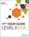 Wiley 11th Hour Guide for 2017 Level II CFA Exam (1119330947) cover image