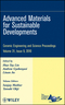 Advanced Materials for Sustainable Developments, Volume 31, Issue 9 (0470594748) cover image