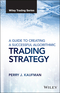 A Guide to Creating A Successful Algorithmic Trading Strategy (1119224748) cover image