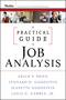 A Practical Guide to Job Analysis (0470434449) cover image