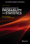 An Introduction to Probability and Statistics, 3rd Edition (111879964X) cover image