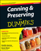 Canning and Preserving For Dummies, 2nd Edition (0470504552) cover image