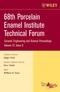 68th Porcelain Enamel Institute Technical Forum, Volume 27, Issue 9 (0470097353) cover image
