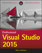 Professional Visual Studio 2015 (1119068053) cover image