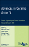 Advances in Ceramic Armor V: Ceramic Engineering and Science Proceedings, Volume 30, Issue 5 (0470457554) cover image