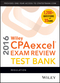 Wiley CPAexcel Exam Review 2016 Test Bank: Regulation (1119120055) cover image
