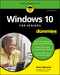 Windows 10 For Seniors For Dummies, 3rd Edition (1119469856) cover image